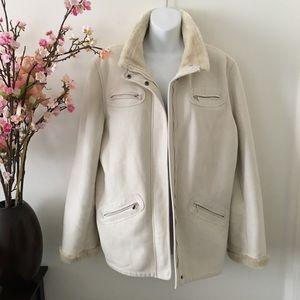 Warm Fashionable Cream Colored Jacket